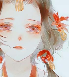 超美古风动漫少女唯美QQ头像大全