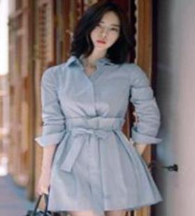 衬衫裙怎么搭配最洋气?春季衬衫裙百搭穿法靓丽时尚
