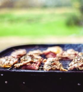 精选高清好看的烧烤架上的美食图片大全