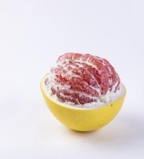 新鲜的不同种类的蜜柚水果图片大全